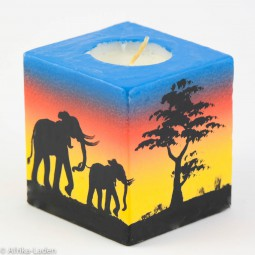 Swazi Candle Sunrise Cube