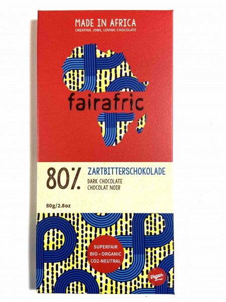 Zartbitter Schokolade 80%