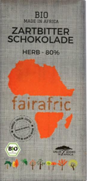 Zartbitter Schokolade herb 80%
