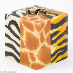 Kerze Four Skin Cube