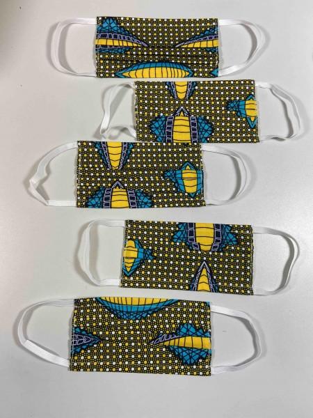 Ruanda Maske Typ 001