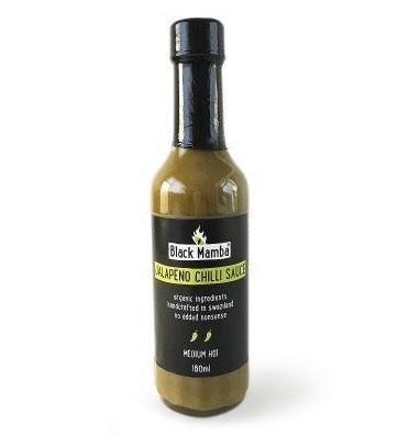 Black Mamba Jalapeno Chili Sauce