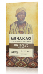 Menakao dunkle Schokolade 80%
