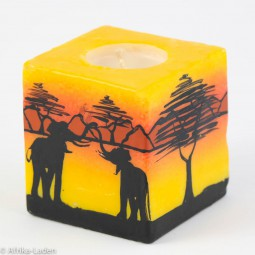 Kerze Baobab Cube