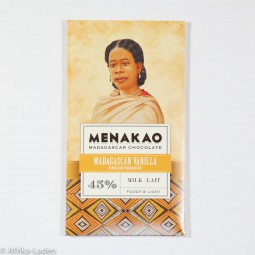 Menakao Milch-Schokolade 45% Vanille