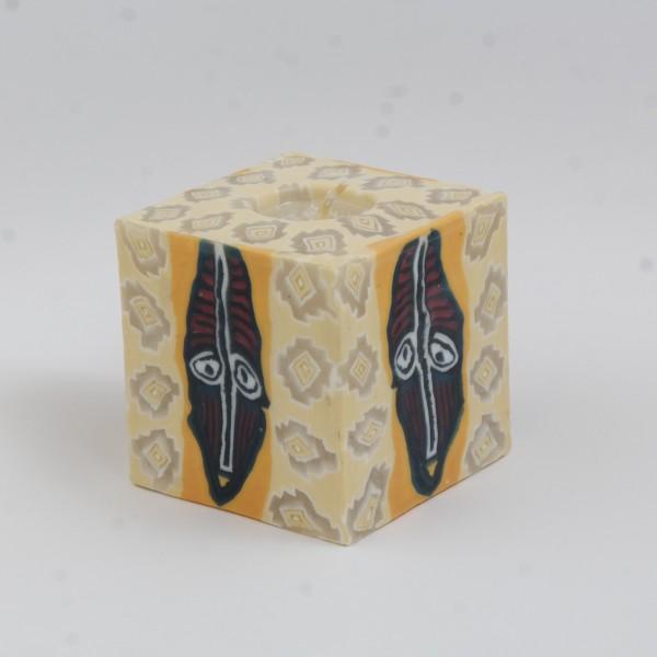 Swazi Candle Basutu Mask cube