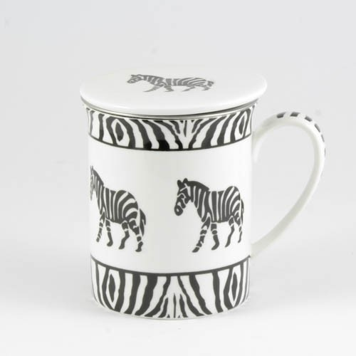 "Kräutertasse ""Barmani"", Zebra"