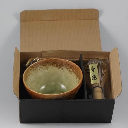 Matcha-Zubereitungs-Set-Inhalt